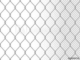 Realistic Chain Link Seamless Pattern Chain Link Fencing Texture Isolated On Transparency Background Metal Wire Mesh Fence Design Element Vector Illustration Buy This Stock Vector And Explore Similar Vectors At Adobe Stock