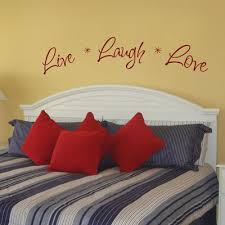Live Laugh Love Wall Decal Sticker Graphic