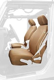 bestop 2928304 tan front seat covers