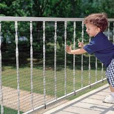 Cardinal Gates 15 Ft Roll Child Safety Outdoor Deck Netting For Safety Black Ds15 Blkc The Home Depot