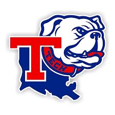Louisiana Tech Bulldogs D Die Cut Decal 4 Sizes 4042
