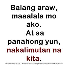 tagalog quotes patama sa ex quotesgram