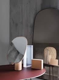 muuto framed mirror large taupe