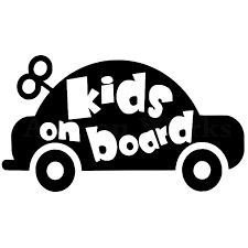 2020 15 8 4cm Kids On Board Decal Sticker For Cars Windows Baby On Board Kids Inside Modern Decal Car Accessories From Xymy777 2 96 Dhgate Com
