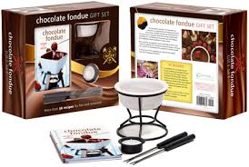 chocolate fondue gift set mud puddle inc
