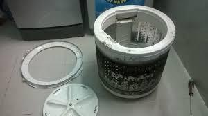 Làm sạch máy giặt cửa trên, cửa trước đơn giản - Sửa điện lạnh