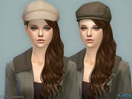 my sims 4 blog cazy serenity hair for