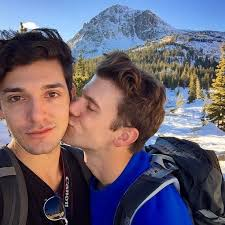 """Aaron Stookey on Instagram: """"A kiss for the man responsible for my growing  obsession with the outdoors ❤️🌲🗻"""" 