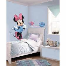 Roommates 5 In X 19 In Mickey And Friends Minnie Mouse Peel And Stick Giant Wall Decal 8 Piece Rmk1509gm The Home Depot