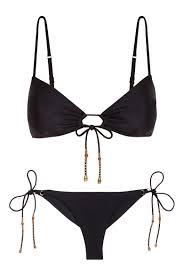 Black Ada Erin Top & Ada Long Tie Cheeky | Biquini, Moda praia, Biquíni