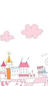 free pink town cute wallpaper