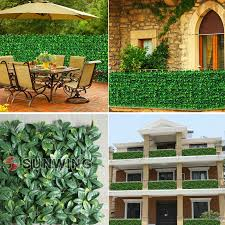China Environmental Fake Hedge Fence Artificial Outdoor Boxwood Fencing China Artificial Plant And Plastic Artificial Fence Price