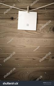 One Individual Square Note Paper Pegged Stock Photo Edit Now 303276428