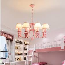 room lamp e14 led red chandelier