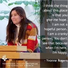 Yvonne Rogers Meme – TN Valley Unitarian Universalist Church