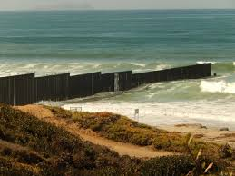 Border Fence Extending Into Pacific Ocean Picture Of Border Field State Park San Diego Tripadvisor