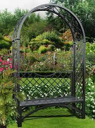 very elegant portofino arbour seat