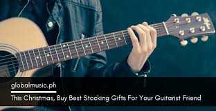 stocking gifts for your guitarist friend