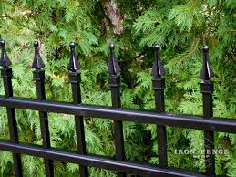 Finials For Fences What Are They Exactly Anyways Iron Fence Shop Blog