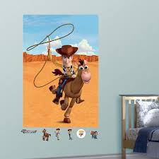 Toy Story Woody Bullseye Mural Decal Sticker Wall Decal Allposters Com