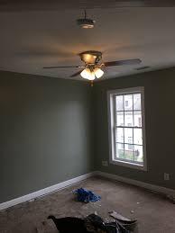 ceiling fan installation in