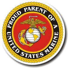 Proud Parent Of A United States Marine Decal Teamlogo Com Custom Imprint And Embroidery
