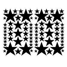 78 Stars Vinyl Girls Bedroom Car Decals Stickers Teen Kids Baby Nursery Truck Suv Car Window Bumper Laptop Locker Glass Car Decal Sticker Decal Stickercar Decal Aliexpress