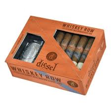 sel whiskey row gift pack with lighter