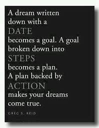 small steps to reach your goal inspirational quotes