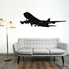 Airplane Vinyl Wall Decal Decor Easy Removable Plane Mural Art Wall Sticker Room Bedroom Art Sticker Home Decorative Decoration Stickers Home Decor Home Decordecorative Decorative Aliexpress