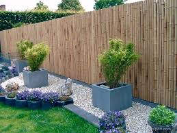Bamboo Fence Panel Trendline 180 X 180 Cm Bamboo Garden Fences Backyard Fences Bamboo Fence
