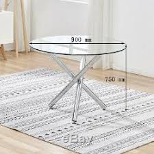 chairs set glass dining table 4 seater