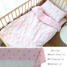 3pcs baby bedding set for boy girl