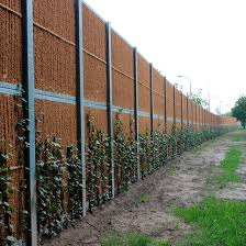 Noise Barrier Fence Kokowall Standard Kokosystems Bv For Industrial Applications For Roads With Panels