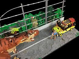 Lego Jurassic Park T Rex Breakout Moc Lego Jurassic Park Jurassic Park T Rex Lego Jurassic