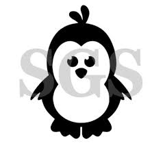 Penguin Window Vinyl Decal Car Decal Yeti Cup Decal Water Etsy