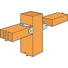 Simpson Strong Tie Fb24z Zmax Galvanized 20 Gauge 2x4 Fence Bracket 100 Per Box