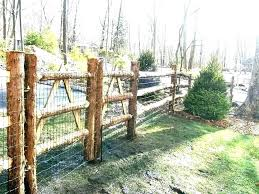 Rustic Wood Fence Posts Noexperiencejobs Co