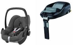 maxi cosi pebble car seat and familyfix
