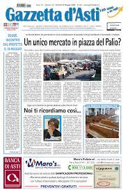 Prima pagina - 22 maggio 2020 - Gazzetta D'Asti