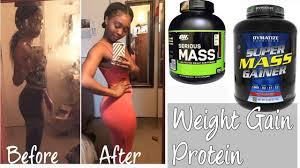 my favorite weight gain protein powders
