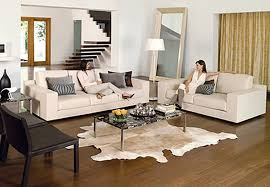 stunning white leather couch living