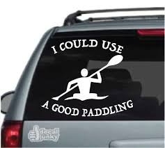 Kayak Canoe Car Decals Stickers Decal Junky