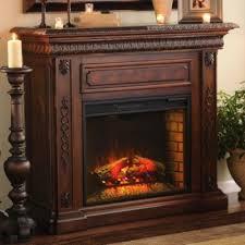 san marco walnut electric fireplace