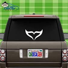 Amazon Com Whale Tail Fluke Vinyl Decal Sticker For Car Truck Window Laptop Macbook Wall Cooler Tumbler Die Cut No Background Multiple Sizes And Colors 20 Inch Silver Automotive