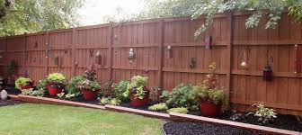 Outdoor Landscape Privacy Fence Landscaping Backyard Patio Backyard