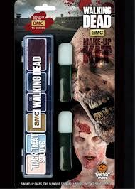 walking dead mouth prosthetic makeup