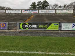 Custom Pitch Signage Printing Signage Crosbie Brothers Wexford