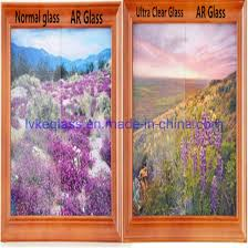 china ar coating low iron glass anti