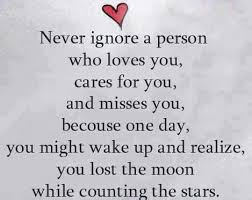 sad being ignored quotes sayings images and status message